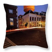 Water Tower Lauwerhof In Utrecht 25 Throw Pillow