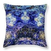 Water Vibration Throw Pillow