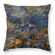 Water Whimsy 178 Throw Pillow