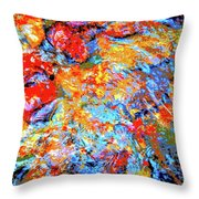 Water Whimsy 183 Throw Pillow