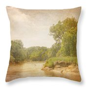 Water Works #1 Throw Pillow