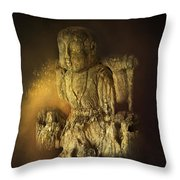 Waterboy As The Buddha Throw Pillow