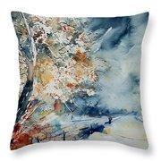 Watercolo 2407063 Throw Pillow