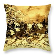 Watercolor  01 Throw Pillow