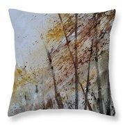 Watercolor 010104 Throw Pillow