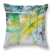Watercolor 010105 Throw Pillow
