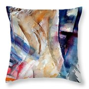 Watercolor  010107 Throw Pillow
