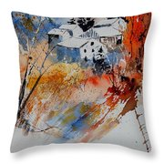 Watercolor  011012 Throw Pillow