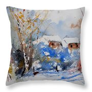 Watercolor  011020 Throw Pillow
