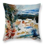 Watercolor  011040 Throw Pillow