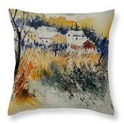 Watercolor  011071 Throw Pillow