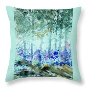 Watercolor  011105 Throw Pillow