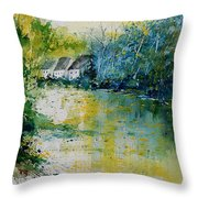 Watercolor  011108 Throw Pillow