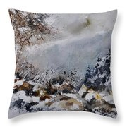 Watercolor 011120 Throw Pillow