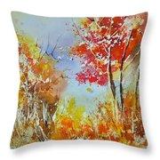 Watercolor 011121 Throw Pillow