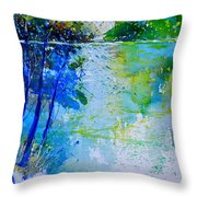 Watercolor 012112 Throw Pillow