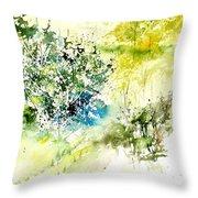 Watercolor 014042 Throw Pillow