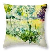 Watercolor 014052 Throw Pillow