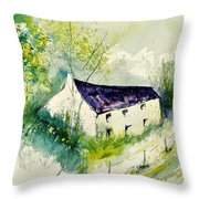Watercolor 014062 Throw Pillow