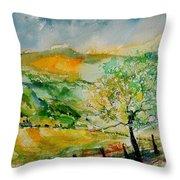 Watercolor 014091 Throw Pillow
