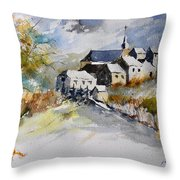 Watercolor 015022 Throw Pillow