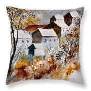 Watercolor 015032 Throw Pillow