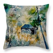 Watercolor 015042 Throw Pillow