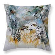 Watercolor 015060 Throw Pillow