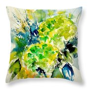 Watercolor 017050 Throw Pillow