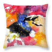 Watercolor 017081 Throw Pillow