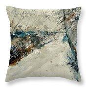 Watercolor 018001 Throw Pillow