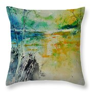 Watercolor 018080 Throw Pillow