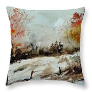 Watercolor 018090 Throw Pillow