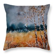 Watercolor  030308 Throw Pillow