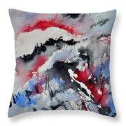 Watercolor 0410563 Throw Pillow