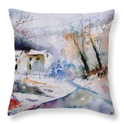 Watercolor  050408 Throw Pillow