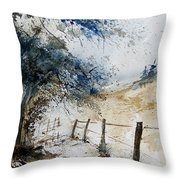 Watercolor  061106 Throw Pillow