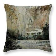 Watercolor 070608 Throw Pillow