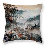 Watercolor  081108 Throw Pillow