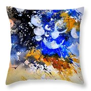 Watercolor 111001 Throw Pillow