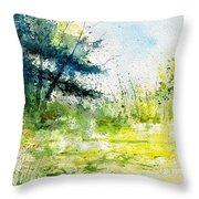 Watercolor 111141 Throw Pillow