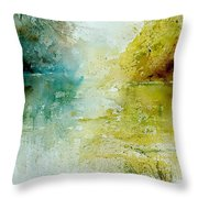 Watercolor  111207 Throw Pillow