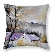 Watercolor 112012 Throw Pillow