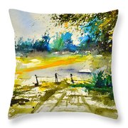 Watercolor 112040 Throw Pillow