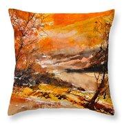 Watercolor 115011 Throw Pillow