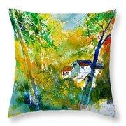 Watercolor 115021 Throw Pillow