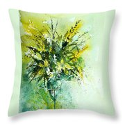 Watercolor  120406 Throw Pillow