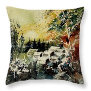 Watercolor  130708 Throw Pillow
