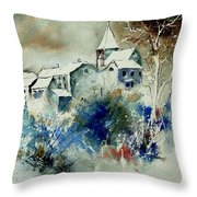 Watercolor  140408 Throw Pillow