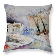 Watercolor 15823 Throw Pillow